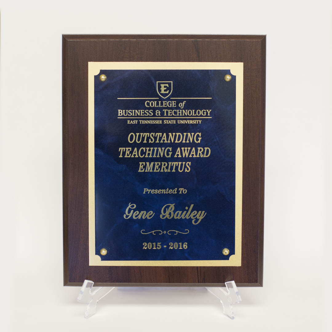 Custo Lasered Plaques